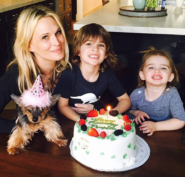 Molly Sims, Scarlett et Brooks