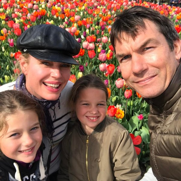 Jerry O'connell, Rebecca Romijn, Dolly et Charlie