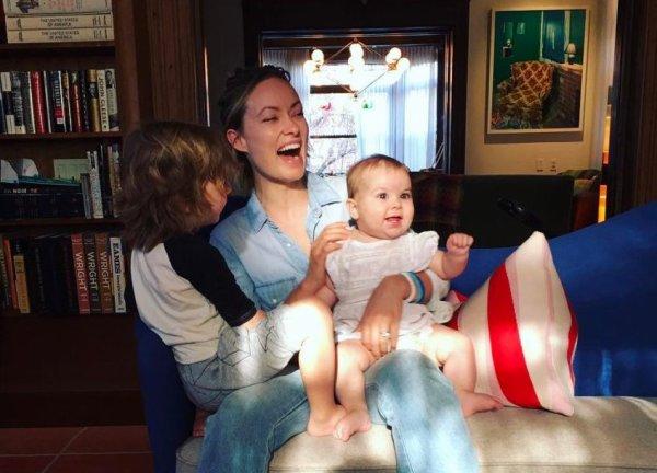 Olivia Wilde, Otis et Daisy