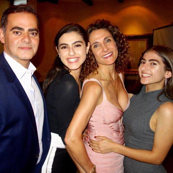 Melina Kanakaredes, peter constantinides, Karina et Zoe