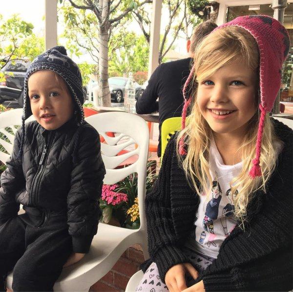 Olivia et Liam Weatherly