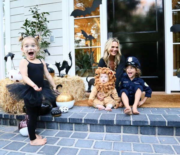 Molly Sims, Brooks, Scarlett et Grey