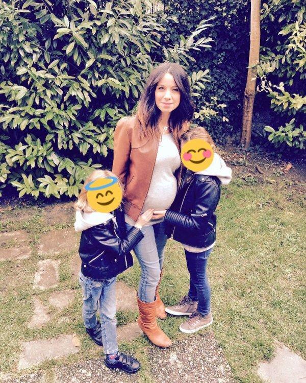 Anne-Gaëlle Riccio enceinte