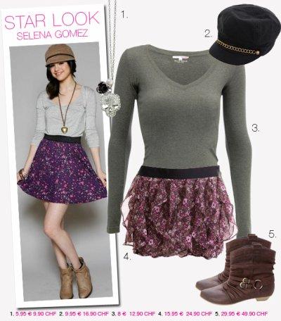 Séléna avec la mode !!