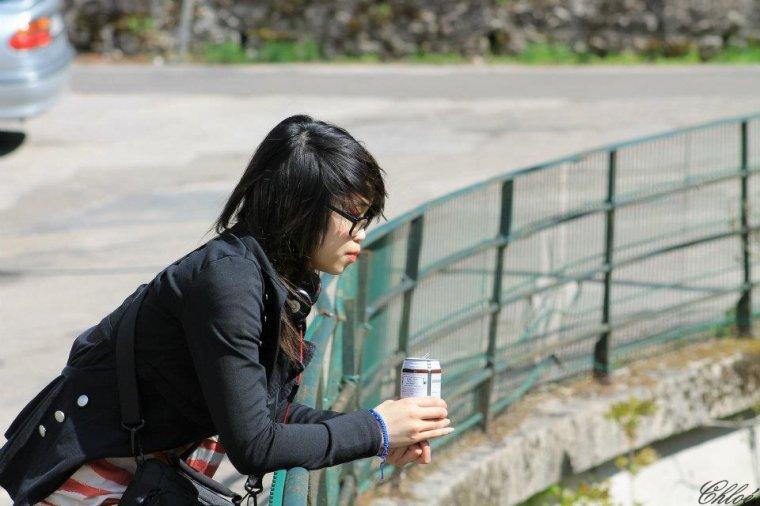 """Shooting """"Tina Cheung"""" ."""