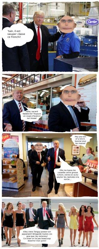 Ma rencontre avec le président TRUMP - avec sous titres -