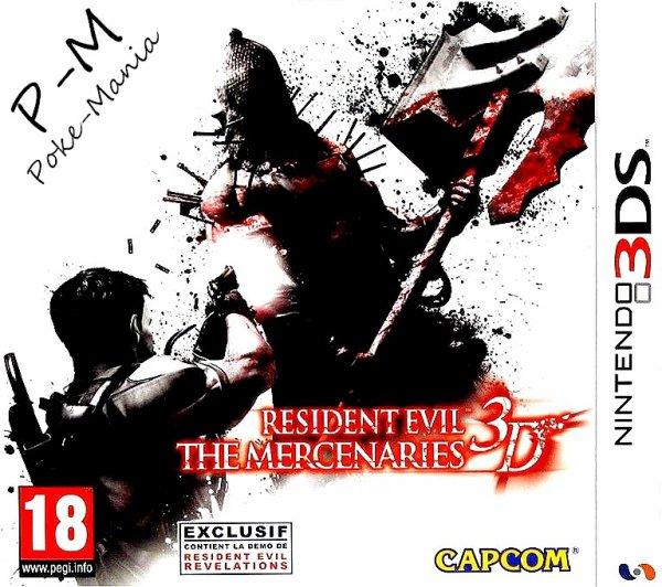 Resident evil mercenaire 3d's