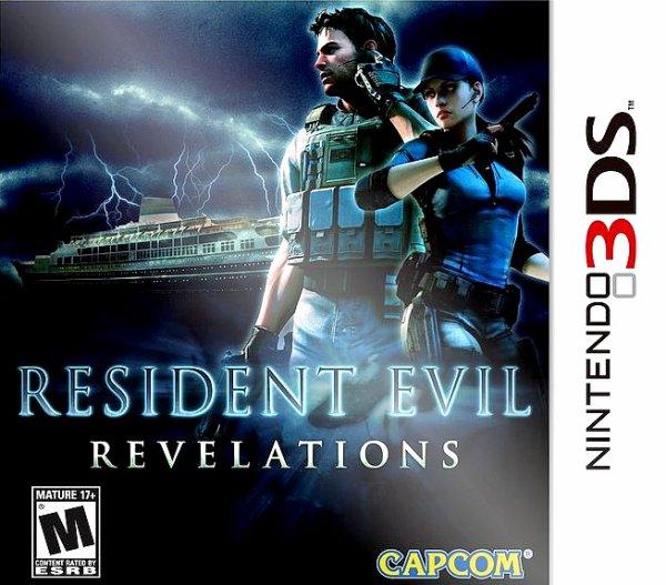 Resident evil revelation 3d's
