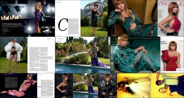 Miley photos pour Prestige + photos du mariage de Jen Talerico + Liam par de Miley et de leur relation