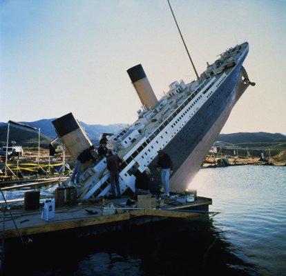 Quelques infos sur le tournage du film Titanic