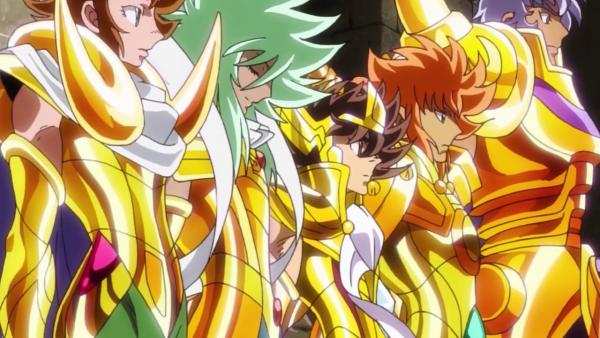 Saint Seiya Oméga les douze chavaliers d'or