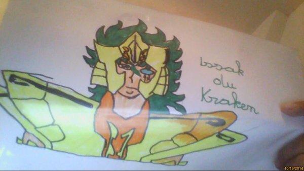 dessin d'Issak du Kraken