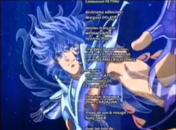 Seiya et ses compagnons et leur constellation