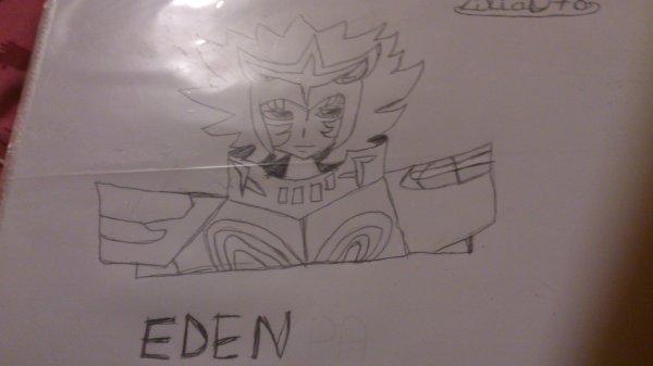 dessin Eden den armure de  pallasin