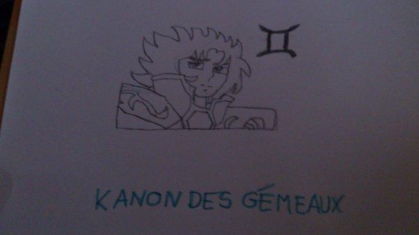 Dessin Kanon des gémeaux