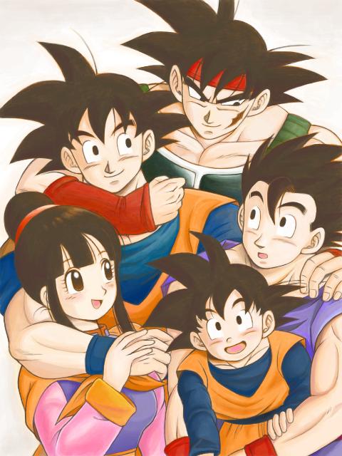 la famille réunis