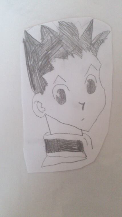 Dessin hunter x hunter