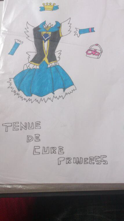 Dessin tenues cure princess
