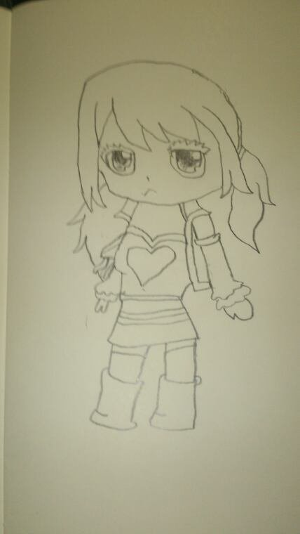 Chibi fairy tail: Lucy Heartfillia