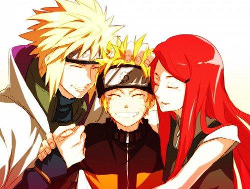 Galerie Naruto shippuden: Naruto, Minato et Kushina