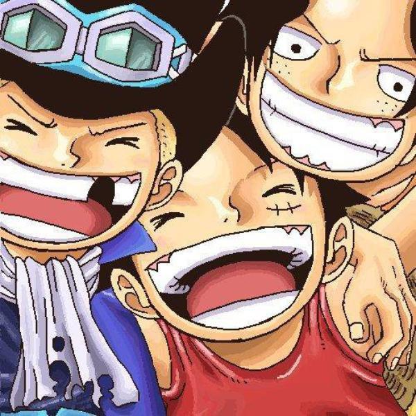 One piece: Les trois frères