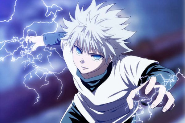 Galerie Hunterxhunter: Killua Zoldicks