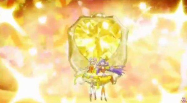 Mahou tsukai Precure: Cure Topaze forme transformation