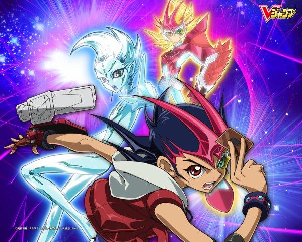 Yu Gi oh zexal: Yuma et Astral