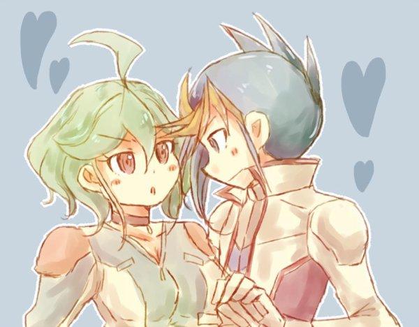 Yu gi oh arc v: Yugo et Rin