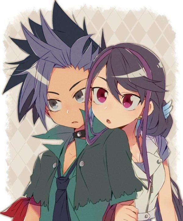 Yu gi oh arc v: Yuto et Ruri