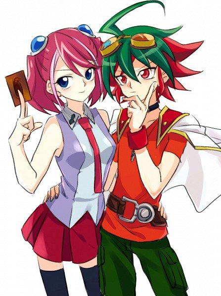 Yu gi oh arc v: Yuya et Yuzu