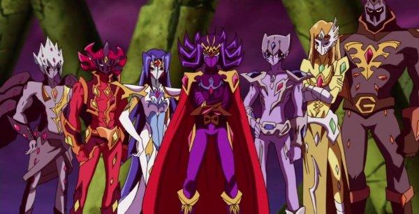 Yu gi oh zexal: Les sept empereurs Barian