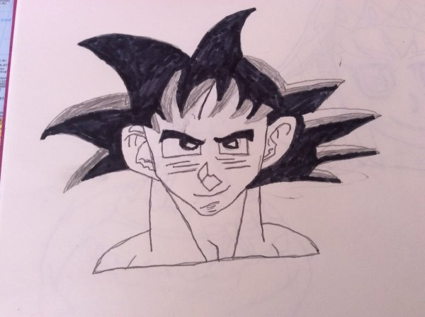 Dessin dragon ball super: Sangoku