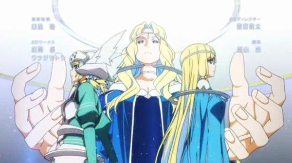 Sword Art Online II: Image opening 2 Escalibur partie 1