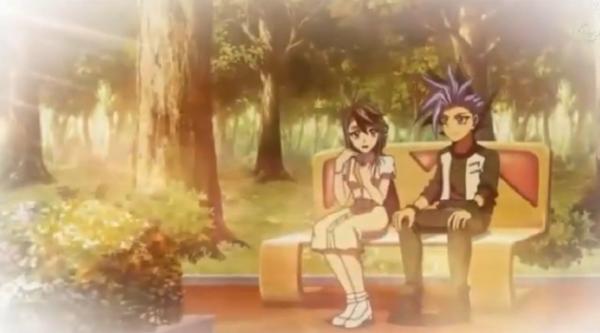 Yu gi oh arc v episode 124: Ruri et Yuto