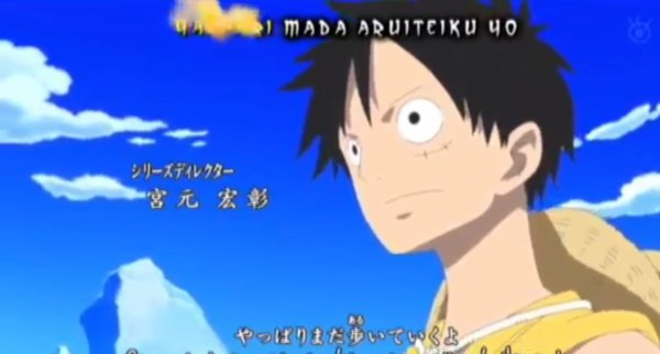 One piece: image opening 13 (3/9)
