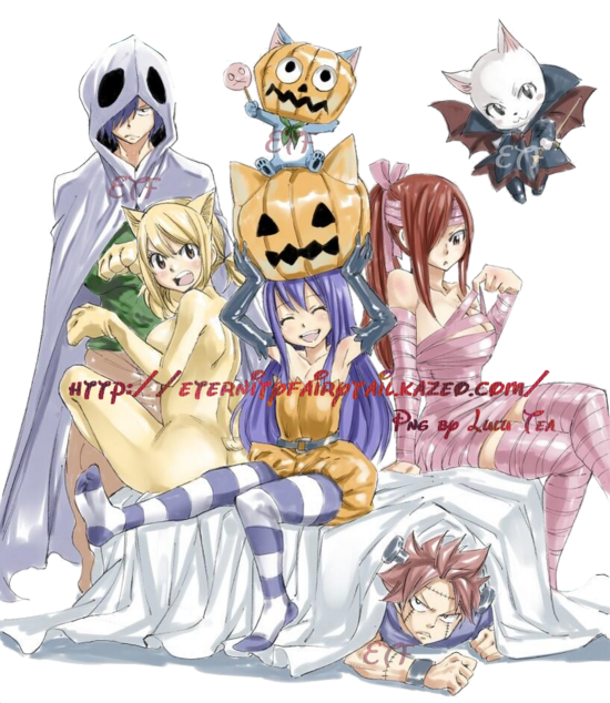 Fairy tail: Happy Halloween 2016
