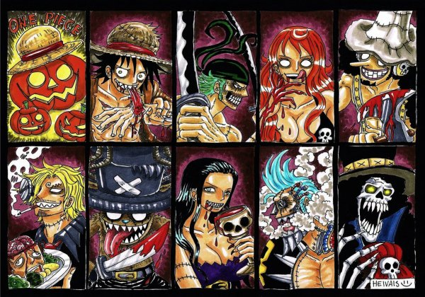 One piece: Happy Halloween 2016