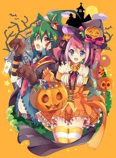 Yu gi oh arc v: Happy Halloween