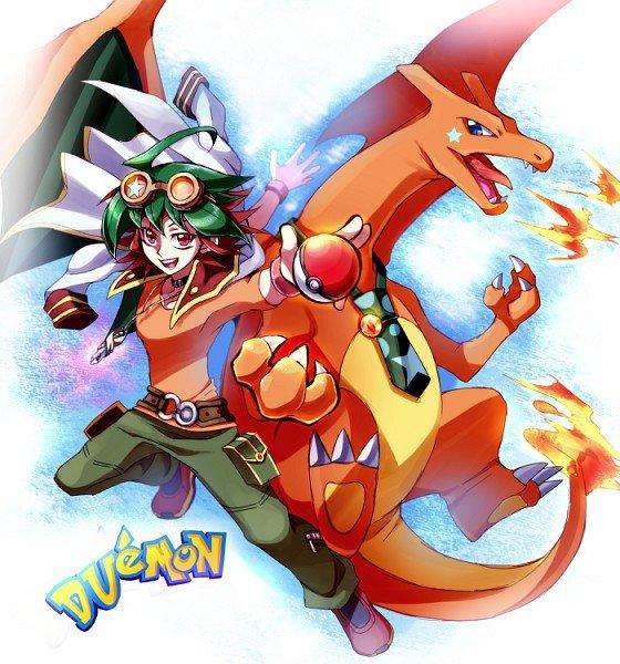 yu gi oh arc v: yuya pokémon