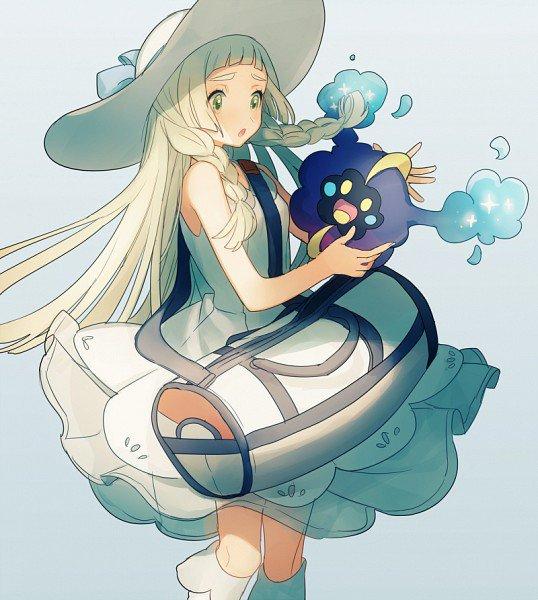 Pokémon soleil et lune: Lillie