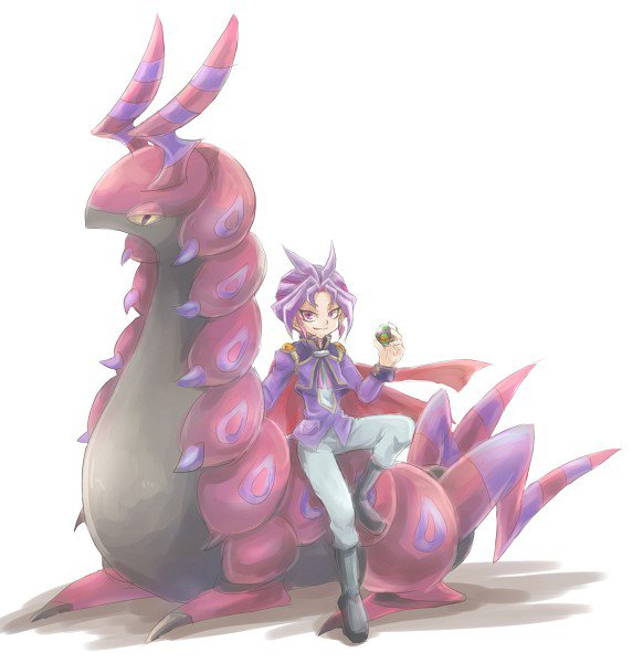 yu gi oh arc v:Yuri pokémon