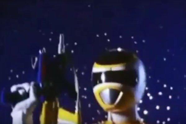 Power ranger dans l'espace: Equipe