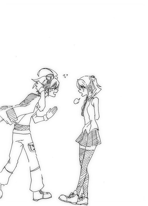 Yu gi oh arc v: Yu couples