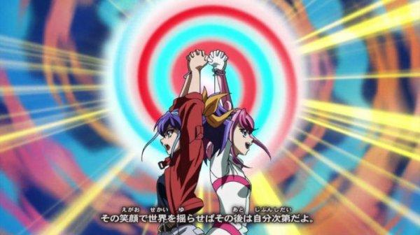 Yu gi oh arc v: Yuzu et Séréna