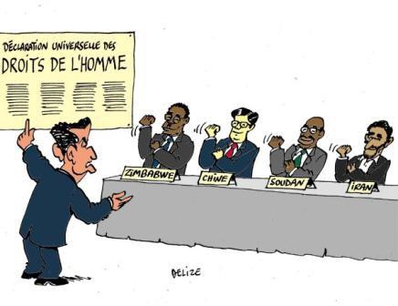Journée internationale des Droits de l'Homme...