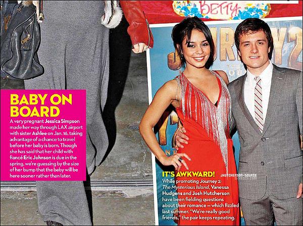 .Trop des magazines que Josh est dessus, ce moment !  .