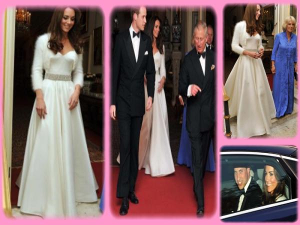 Robe soiree mariage kate