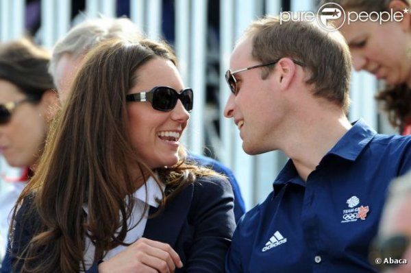 Kate et William aux JO pour voir Zara Phillips dans l'épreuve de cross