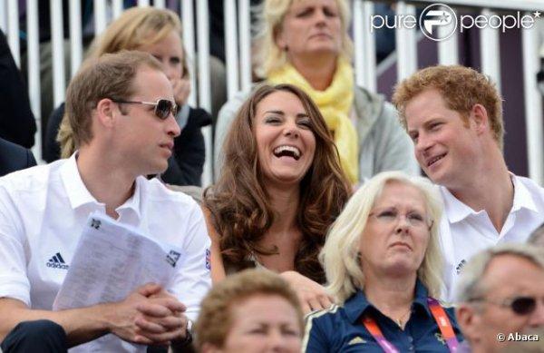 Kate et William vibrent pour les JO